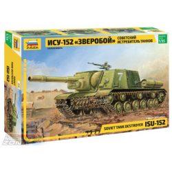 Zvezda ISU-152 Soviet Self-propelled Gun - makett