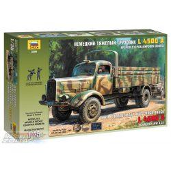 Zvezda Dt.Transport-LKW L4500A - makett
