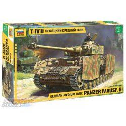 Zvezda - 1:35 Panzer IV Ausf.H (SD.Kfz 161/2) - makett