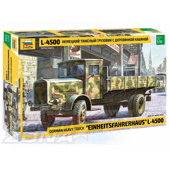 Zvezda - 1:35 L-4500S Einheitskabine -makett