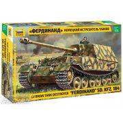"""Zvezda 1:35 Sd. Kfz.184 """"Ferdinand Tiger """" - makett"""