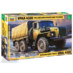 zvezda 1:35 Ural 4320 - Russischer Truck - makett