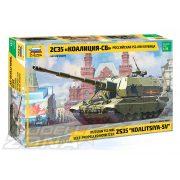 """Zvezda - 1:35 Russische 152 mm Haubitze 2S35 """"Coalition-SV"""" - makett"""