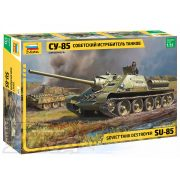 Zvezda - 1:35 SU-85 Soviet self propelled gun - makett