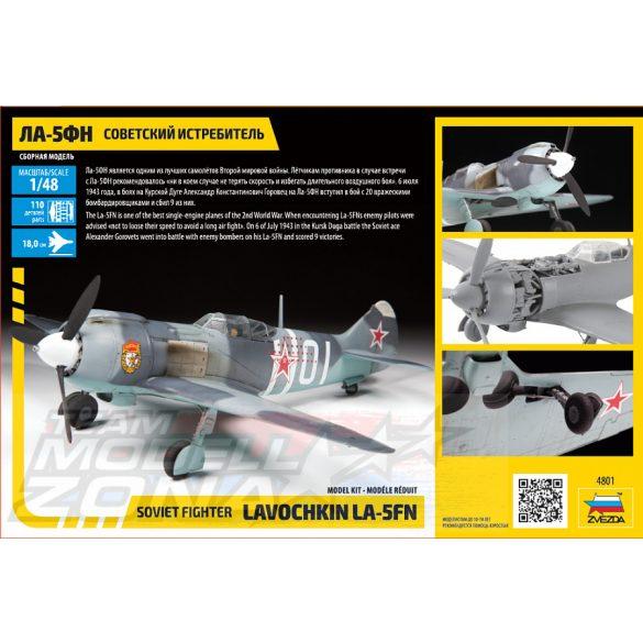 Zvezda La-5FN Soviet Fighter w/interior - makett