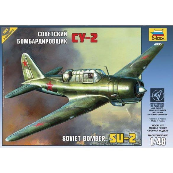 Zvezda SU-2 Soviet Light Bomber - makett
