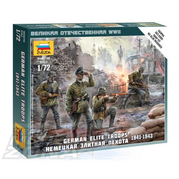 Zvezda German Elite Troops 1939-43 - makett