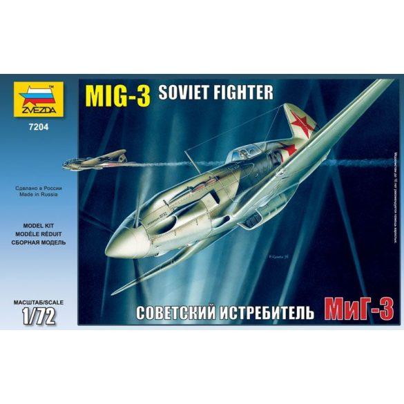Zvezda MiG-3 Soviet Fighter - makett