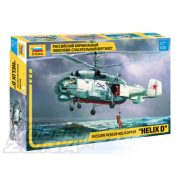 "Zvezda - 1:72 Russian rescue helicopter ""Helix D"" - makett"
