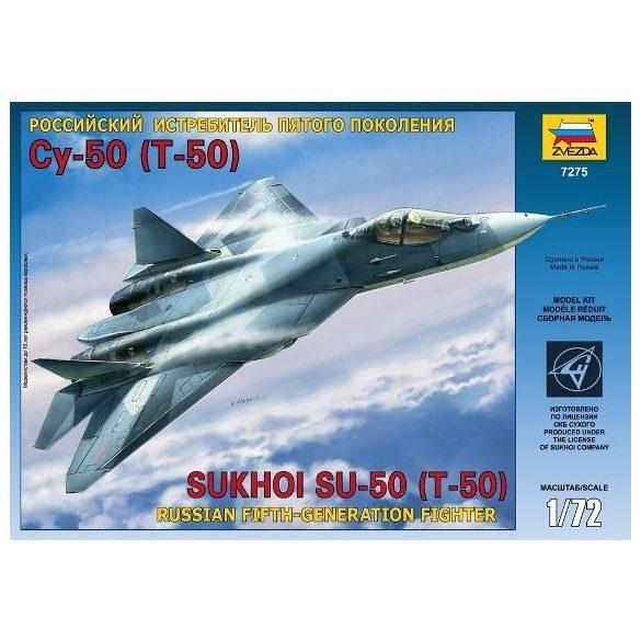 Zvezda - 1:72  Sukhoi T-50 - makett