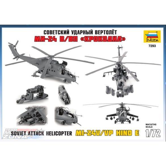 Zvezda Mil Mi-24V Hind C - makett