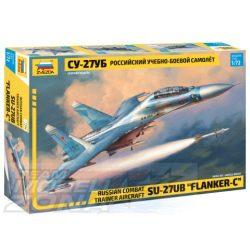 Zvezda - 1:72 Sukhoi SU-27 UB Flanker-C - makett