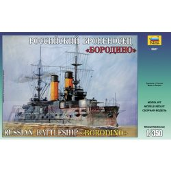 Zvezda 1:350 Russian Battleship Borodino- makett