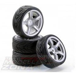 Carson - 1:10  SC-Wheel AMC Style silver 4db