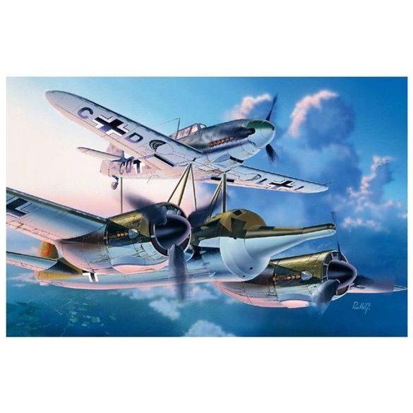 Italeri Mistel 1 Ju 88 A-4 BF 109 f-4 - makett