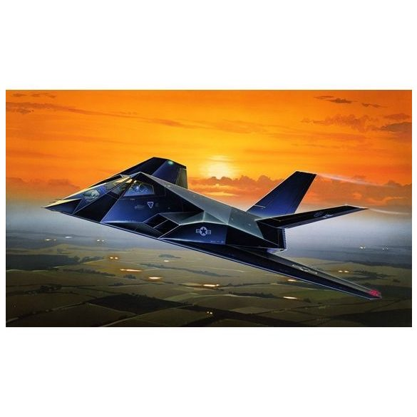 Italeri F-117A STEALTH NIGHTHAWK - makett (§)