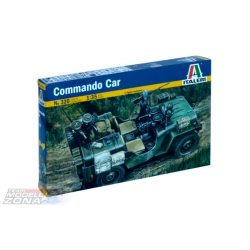 Italeri COMMANDO CAR - makett