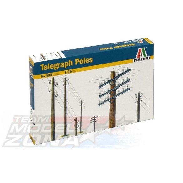 Italeri Telegraph Poles - makett
