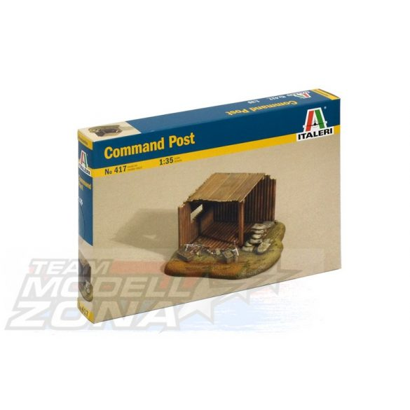 Italeri Command Post - makett