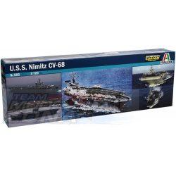 Italeri U.S.S. NIMITZ- makett