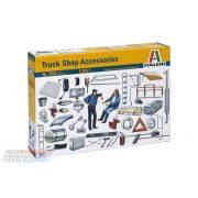 Italeri Truck Shop Accessories- makett