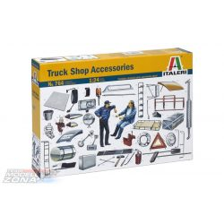 Italeri Truck Shop Accessories- makett