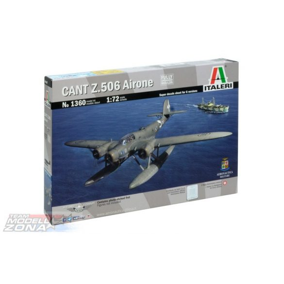 Italeri CANT Z 506 AIRONE - makett (§)