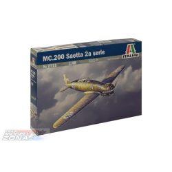 Italeri - Macchi MC.200 Saetta 2a serie- makett
