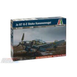 Italeri JU 87 G-2 Stuka Kanonenvogel - makett (*)