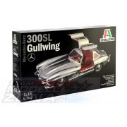 Italeri - 1:16 MERCEDES-BENZ 300 SL GULLWING  - makett