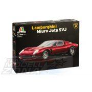 Italeri - 1:24 Lamborghini Miura JOTA SVJ - makett