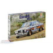 Italeri 1:24 Ford Escort RS 1800 MK.II Lombard - makett