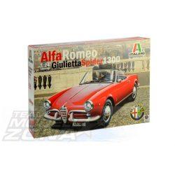 Italeri - 1:24 Alfa Romeo Giulietta Spider 1300 - makett