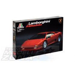 Italeri - 1:24 Lamborghini Diabolo műanyag makett