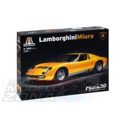 Italeri - 1:24 Lamborghini Miura - makett