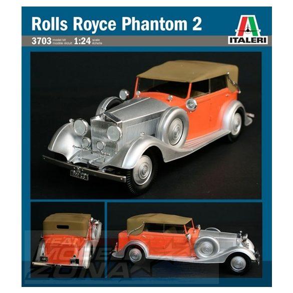 Italeri Rolls Royce Phantom II - makett