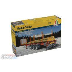Italeri TIMBER TRAILER- makett