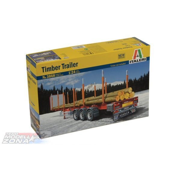 Italeri TIMBER TRAILER- makett