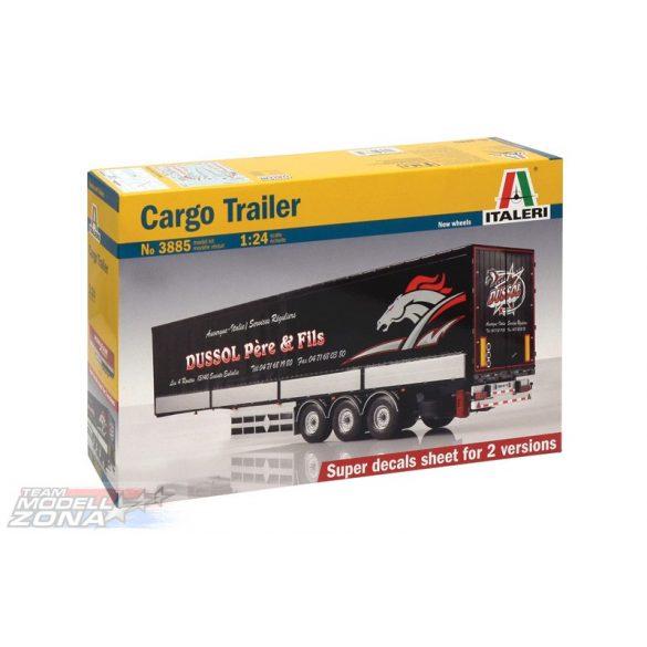 Italeri Cargo Trailer- makett