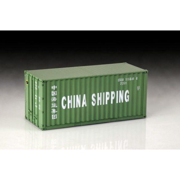 Italeri Shipping Container 20FT- makett