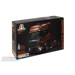 Italeri Scania R730 V8 Black Amber- makett