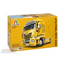 Italeri Iveco Stralis Yellow Devil- makett