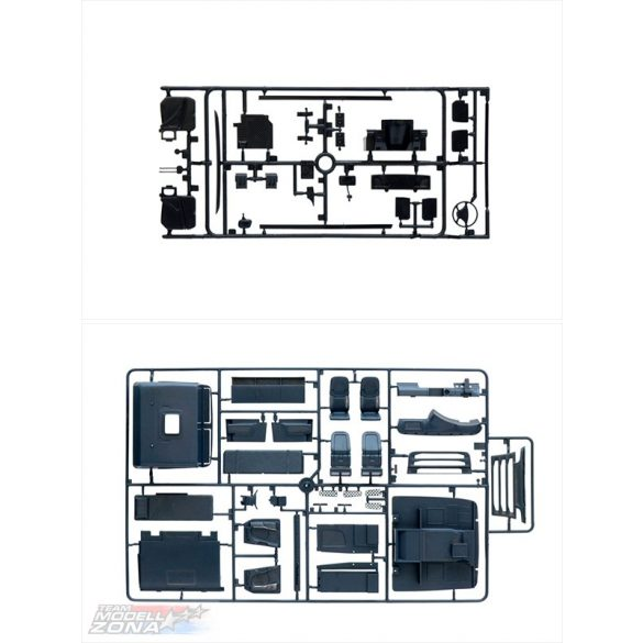 Italeri - 1:24 SCANIA R730 V8 STREAMLINE - SILVER GRIFFIN- makett