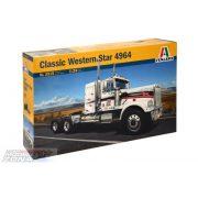 Italeri - 1:24 Classic US Truck Western Star- makett