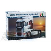 Italeri - 1:24 SCANIA R730 Streamline Highline Cab- makett
