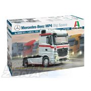 Italeri - 1:24 MERCEDES-BENZ MP4 BIG SPACE - Kamion Makett