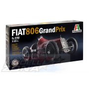 Italeri - 1:12 FIAT 806 Grand Prix - makett