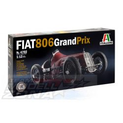 Italeri - 1:12 FIAT 806 Grand Prix - makett