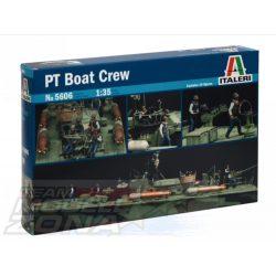 Italeri - 1:35 Figuren-Set Crew (10) ELCO 80 PT - makett