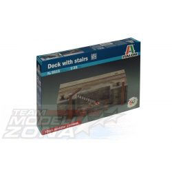 Italeri Dock with Stairs - makett